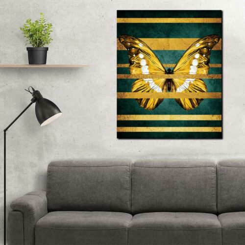 butterfly canvas painting easy, Abstract Butterfly Canvas Print Butterfly Wall Art, Abstract Wall Art Home Decor 3