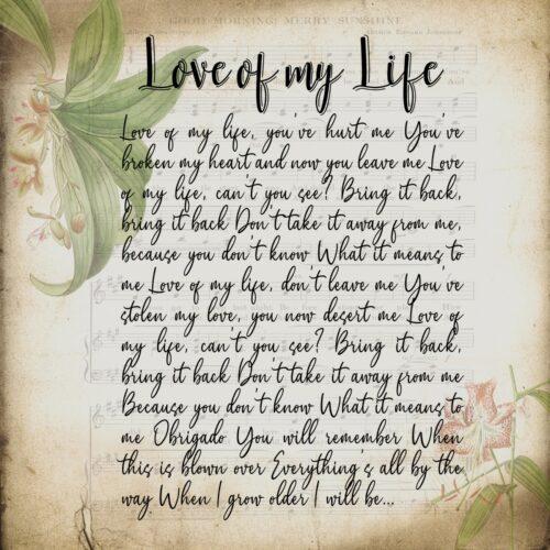 Lyrics song canvas art, 3 pieces of canvas art lyrics vintage 9