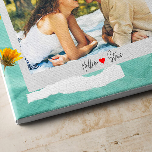 personalized couple canvas art, love gift 8